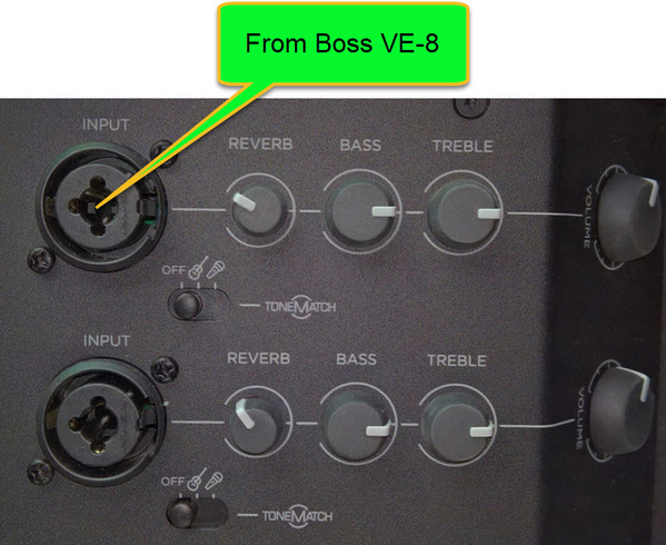 S1 Pro from Boss VE-8 Simple